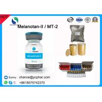 China Melanotan II /2 Peptide Powder for Skin Tanning 10mg/Vial CAS 121062-08-6 Mt-2 on sale