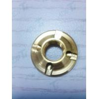 TA6V Titanium GR5 Machining Parts With Gas Nitriding Golden Surface Wear Resistance Manufactures
