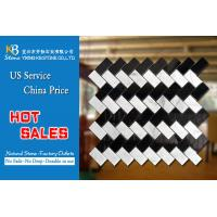 Black and white marble mosaic tiles nature kitchen decoration Manufactures