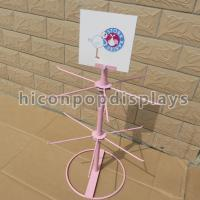 Metal Wire Table Top Retail Hanging Display Shelf For Kids Toys Manufactures