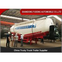 50 Ton Custom V Shape Cement  Tank Trailer , 42 CBM Bulk Cement Trailer  Manufactures