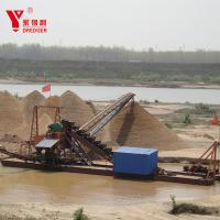 China Large Scale Mining Gold Dredging Boat Alluvial Gold Dredging Machinery on sale