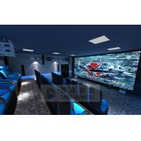 Cinema House 4D Movie Theater Electronic System Simulation Rides 50 People Manufactures