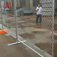 China Canada Convenient Installation Temporary Fence For Construction Site for sale