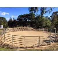 China 16 Portable Horse Stall Panels round Yard, Cattle Fences, Corral 11m diameter on sale