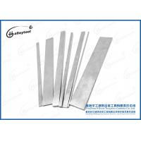 Woodworking Solid Tungsten Carbide Strips For Wood Cutting Tools YG8.2/YG15/YG20C Manufactures