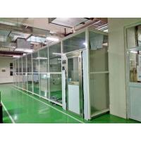 Portable Modular Cleanroom Air Shower Clean Booth With Hepa Ffu Softwall Manufactures