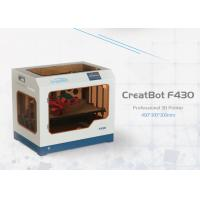 F430 Direct Wire Feeding CreatBot 3D Printer 1.75mm Filament High Accuracy Manufactures