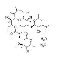 China pharmaceutical ingredient Azithromycin Dihydrate cas no 117772-70-0 on sale