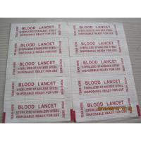Stainless steel blood lancet Manufactures