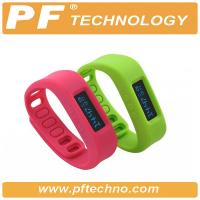 Bluetooth 4.0 Bluetooth Watch Bracelet Pedometer With Lithium Battery Manufactures