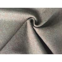 Classic Style Felted Wool Fabric , Woven Flannel Fabric For Baby Quilts Manufactures