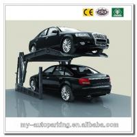 China Double Deck Stackers/Home Garage Car Lift/Vertical Parking/Car Parking Lift Double Stack on sale