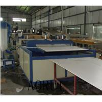 China PVC Building Foam Board Machine , Kitchen Foamed Board Extrusion Line for Furnitiure on sale