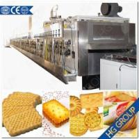 Tunnel Oven Soda Biscuit Bakery Machine (HG-SWB) Manufactures