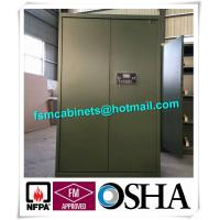 Fireproof Gun Safety Storage Cabinet , Industrial Safety Cabinets For  Storage Guns Manufactures