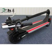 Foldable Electric Stand Up Scooter Long Distance Dc Brushless Motor Manufactures