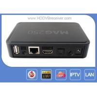 Linux MAG250 Android Smart IPTV BOX Engima2 1080p 720p 576p For Europe Manufactures