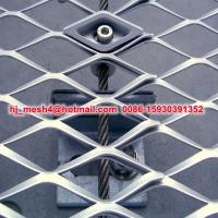 decorative aluminum expanded metal mesh panels Manufactures