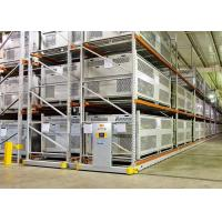 Cold Storage Heavy Duty Mobile Shelving System Labor Saving Long Span Manufactures