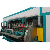 6000Pcs/H Automatic Recycled Paper Egg Tray Machinery Rotary Forming Manufactures