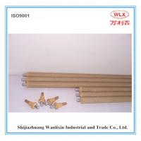 China supply S type disposable thermocouple with (triangle contact)  used for temeprature measurement in steel plants Manufactures