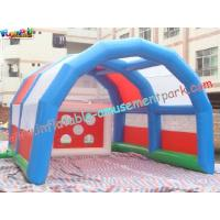 Commercial grade PVC tarpaulin Outdoor Blow up Football Inflatable Sports Games for Rent Manufactures