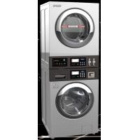 China 13kgs COIN OP stack Washer Dryer/washer dryer/combo washer dryer/commercial washer dryer on sale