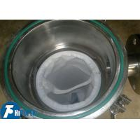 Quality 17l Volume Bag Filter Housing Waste Water Filtration Machine 0.5mpa Working for sale
