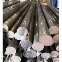 2017A T4 Aluminum Solid Round Bar High Strength Fair Workability For Machine Construction Manufactures