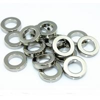 Super Strong Nickel Plated small circular Neodymium Ring Magnets for Speaker Manufactures