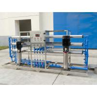 China 3T / h pure water equipment and 100 barrels / hour 5 gallons filling production line on sale