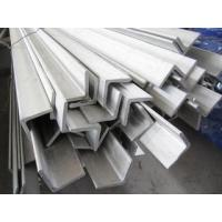 China Construction Structural Hot Rolled Hot Dipped Galvanized Angle Iron / Equal Angle Steel on sale