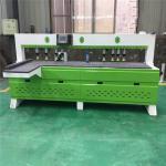 Multiple Spindle Woodworking Side Drilling Machine Infrared Laser Scanning Drilling Manufactures
