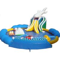 Hot Sales Giant Inflatable Shark Water Park, Inflatable On Land Pool Water Park Manufactures