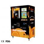 hospital white 220v 50HZ orange juice vending machine Manufactures