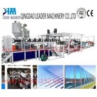 with UV coating polycarbonate pc solid/embossed acrylic sheet equipment Manufactures