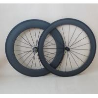 700C Carbon Wheelset 60mm+88mm clincher road bicycle wheel R13 Hubs and aero pillar spokes Manufactures