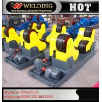 Automatic Vessel Welding Pipe Welding Rotator With PU Rubber Roller 15000kg Manufactures
