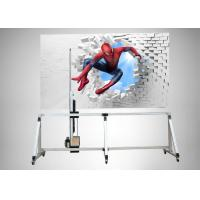 Intelligent Wall Decal Machine USA Banner Sensor With Wireless Touch Screen Manufactures