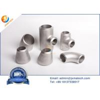 China Dn15-Dn1200 Titanium Pipe Fittings With Sand Blasting Polishing Surface on sale