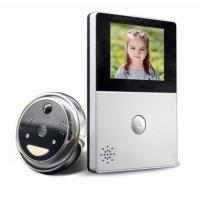 2.8 Inch LCD Monitor Peephole Wireless Video Doorbell With RTOS Operating Systems Manufactures