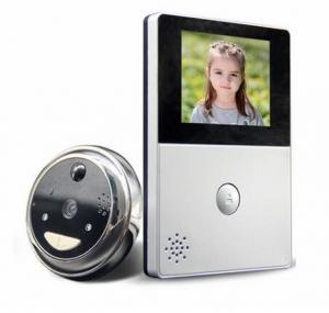 Wifi Smart Doorbell Cat Eye Video Door Phone With 2.8 Inch OLED Screen 3000mHA Lithium Battery Manufactures