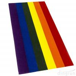 100% Cotton Gay Flag Beach Towel LGBT Pride Parade Rainbow Towel Colors Resistance Manufactures
