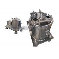 China Industrial Extracting Oil From Plants Basket Type Centrifuge Equipment ISO on sale