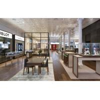 China Watch Store interior decoration mill work furniture by Display wall cabinets and Glass showcase in Walnut wood on sale