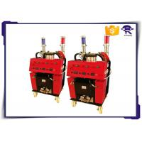 China Red Color Polyurethane Foam Machine 1Mpa Air Supply For Exterior Wall Insulation on sale