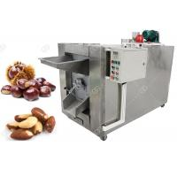 China Small Batch Nuts Roasting Machine 100 - 150 KG/H Stainless Steel Material on sale