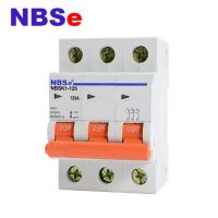 China High Stability AC Triple Pole Isolator Switch 125A High Breaking Capacity on sale