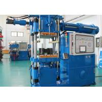 Custom Horizontal Rubber Injection Molding Machine 400 Ton For Arm Bushing Silicone Parts Manufactures